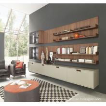 White MDF Lacquer Fashion Simple Kitchen Cabinet