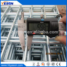 Anping Хорошее качество 4ft x 10ft электро гальванизация после сварки проволочной сетки лист завода