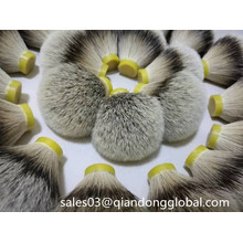Density Silvertip Badger Hair Knot for Wet Shaving Brush