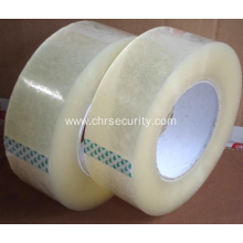 High density clean packing bopp tape with logo