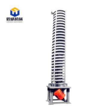 elevador espiral vibratorio alimentador espiral transportador de tornillo