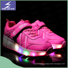 Светящаяся USB зарядка светодиодная обувь с 11 сменными цветами