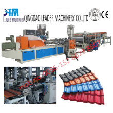 UV Resistance UPVC Bamboo Roofing Sheet Extrusion Machine
