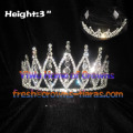 Spike Crystal Pageant Crowns