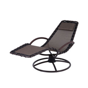 Steel spring-seat chair