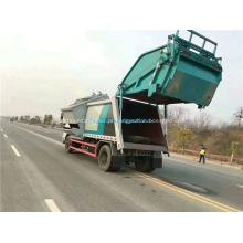 2019 novo modelo de coleta seletiva de caminhão de lixo