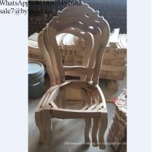 Muebles de madera para el hogar Silla clásica Marco de madera sillas de comedor
