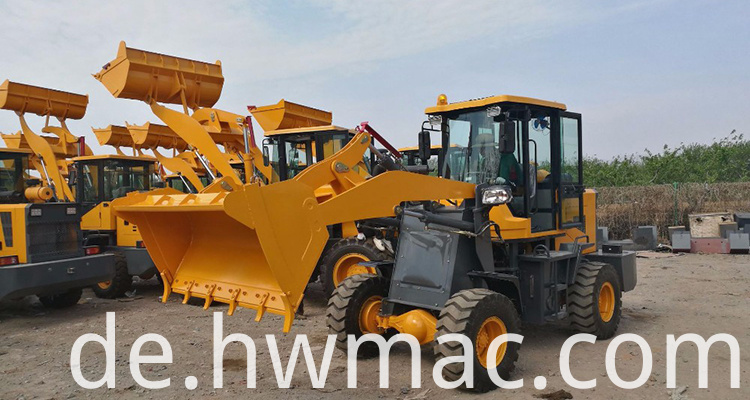 Chinese wheel loader