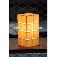 Lámpara de mesa de restaurante de porcelana china