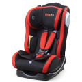 Baby car seat with blue back cover