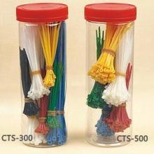 Automatic Cable Tie Gun Nylon Hook & Loop Straps Twist Tie Zip Ties Numbered Cable Ties