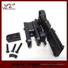 Terno de coldre de cinto IPSC pistola para coldre Airsoft tático de mão direita e esquerda