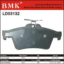 Plaquette de frein de qualité supérieure (D3132)
