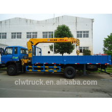 Hot Sale Dongfeng 4x2 Truck With Crane, 5 tons truck crane
