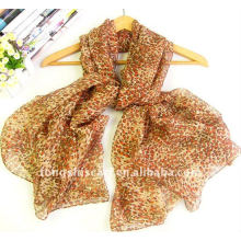 2013 newest polyester chiffon oblong scarf