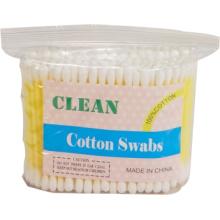 Pegamento Stick algodón hisopos (100PCS/bolsas de plástico)