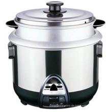 Heißes Modell 1.5 L Gasreiskocher Al Rice Pot