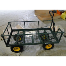 High Quality Four Wheel Garden Tool Cart