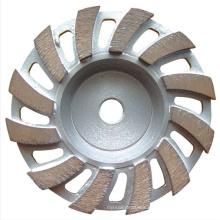 hot press turbo segmented granite diamond saw blade