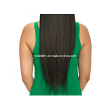 Hairpiece-100% Natural Straight Brazilian Human Hair