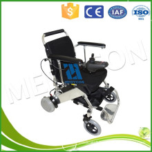 Luxury Automatic Battery Powered Lightweight Folding Wheelchair , 100kg