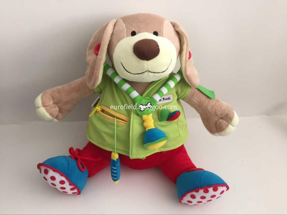 Baby Doctor Dog Doll