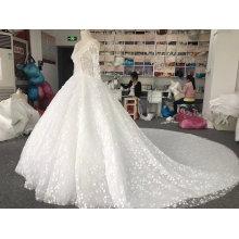 Aolanes reale Probe Braut Hochzeitskleid