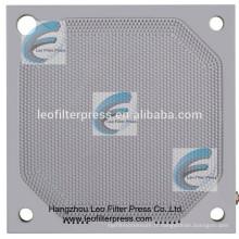 Plaque filtrante de membrane de pièce de rechange de filtre de plat de membrane de presse de filtre de Leo, fabricant de presse de filtre de membrane de Chine