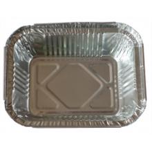Rôtisserie à usage unique en aluminium rond / Aluminium Foal Food Container