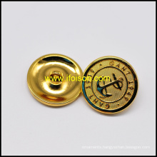 Shiny Gold Shank Button With High Quality