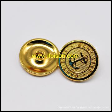 Блестящий золото хвостовик кнопка с высоким качеством