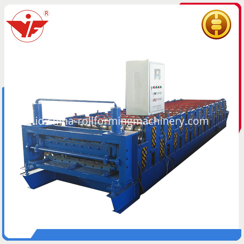 China Style Double Layer Roll Forming Machine 2
