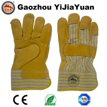 Cow Grain Leather Industrial Work Glove