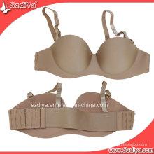 Sexy ropa interior ropa interior sin costuras Lady Underwired Bra (DYS-002)