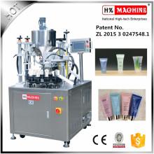 Machine de cachetage remplissante de tube en plastique de pharmacie d'excellente qualité avec l'impression de date
