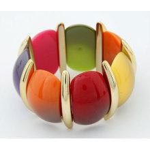 2013Hot Продажа Многоцветный Изящный браслет упругости Акриловые браслеты и браслеты BA06