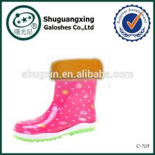 Запуск Бахилы дождь для детей дождя сапоги фабрика зимние/C-705