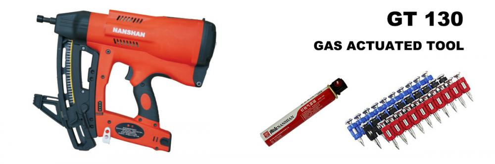 Gt130 Gas Actuated Tool Gas Nailer Gas Fastening Tool