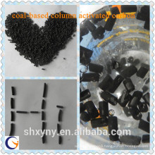 High efficient low price coal-based column activated carbon,water purification materials