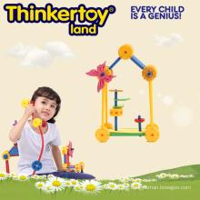 Schule Versorgung Pädagogische Plastik Bausteine Tisch Spielzeug