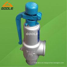 Válvula de alivio de seguridad de presión de rosca macho (GAA27H)