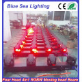 2015 China hotsale RGBW 4in1 4x10w led moving head beam