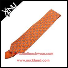 Azo Free Men New Fashion Wholesale Printed Tie Silk Screen Prints Anime