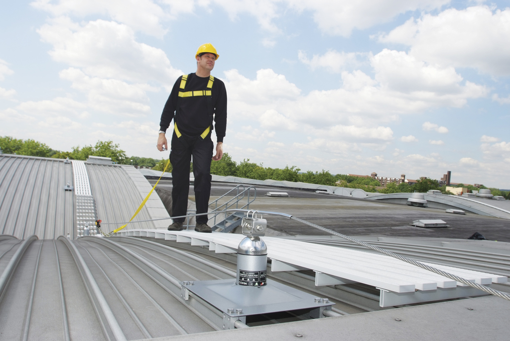 application of the standing seam machine