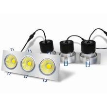 Caixa quadrada 3 x 6W COB LED Down Lâmpada