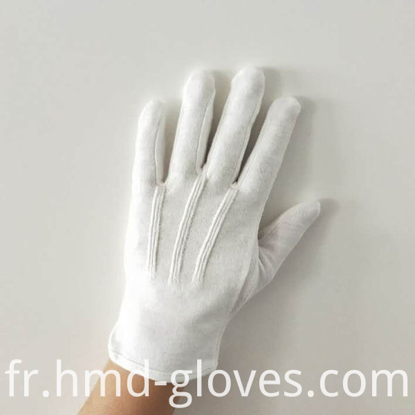 Gripper Dots Gloves For Waiters Back