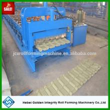 Farbe Stahl Dachziegel Kaltwalze Formmaschine für Nigeria