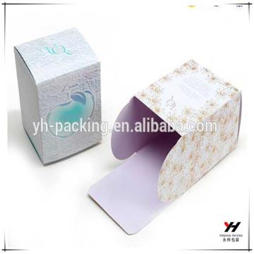 Empaquetado de la caja de papel del perfume del precio bajo del logotipo de encargo 2018