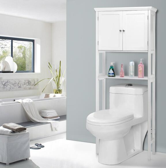 Tall White Bathroom Cabinet