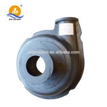 rubber liner slurry pump parts, rubber frame liner